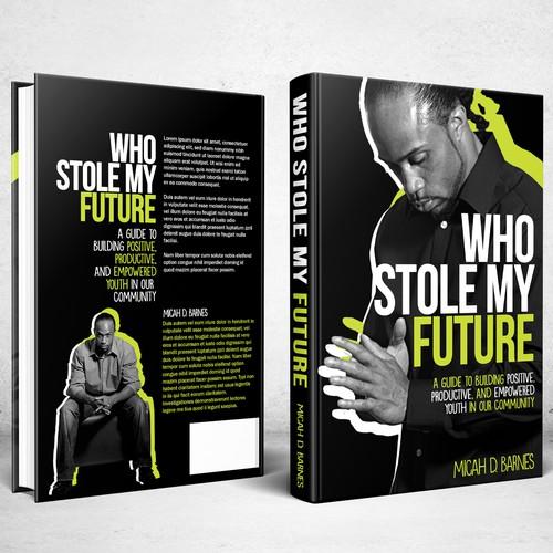 Book cover design for Who Stole My Future