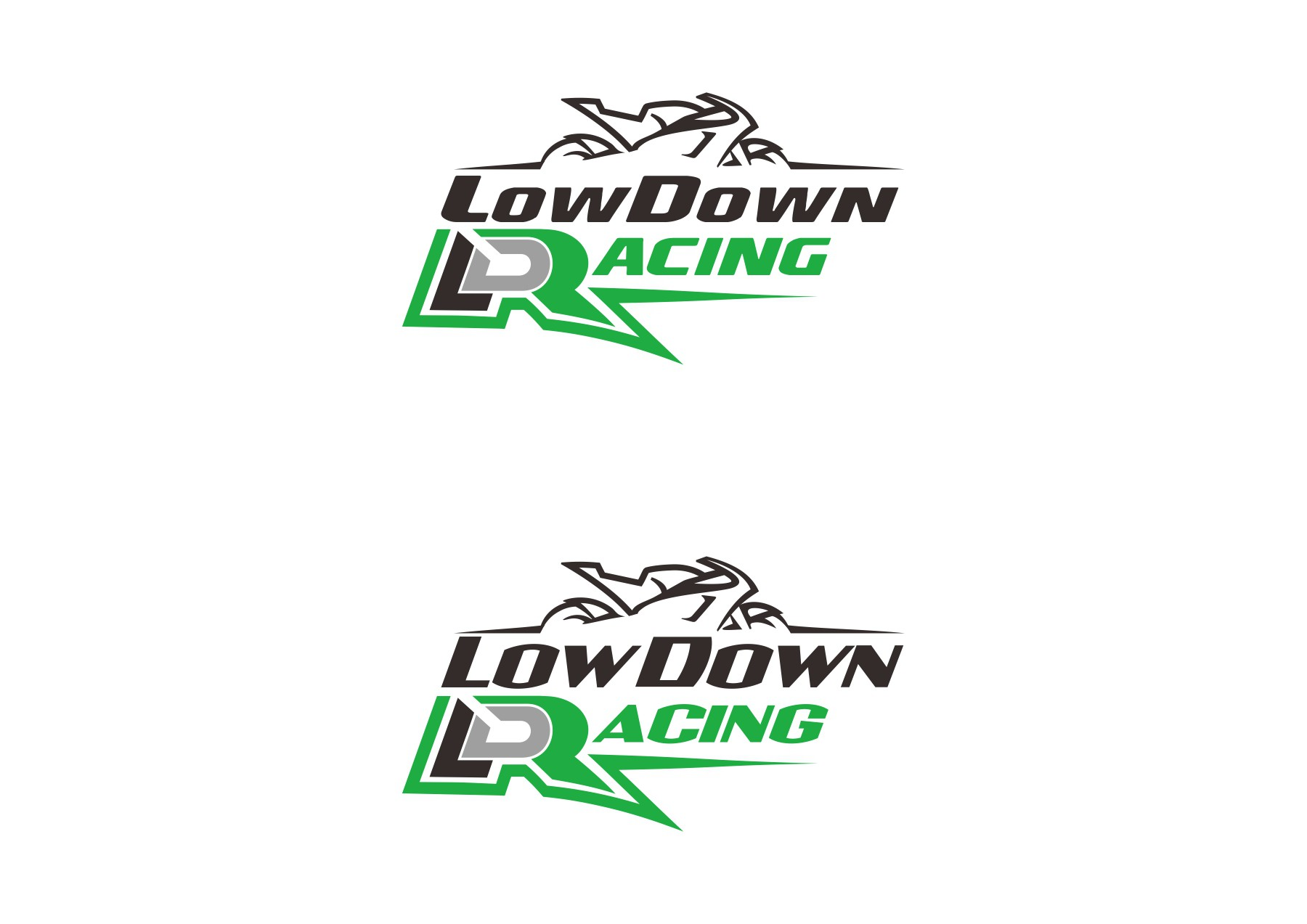 Create the next logo for a Motorcyle Racing team