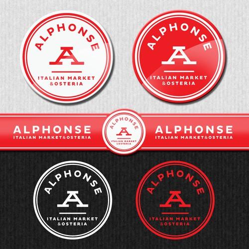 Help Alphonse  Italian Market & Osteria with a new logo