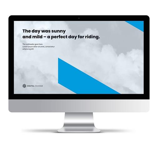 Digital Change PowerPoint Template