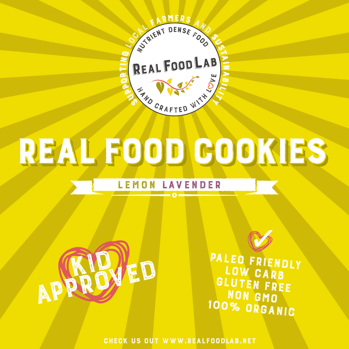 Real Food Lab Labels #2