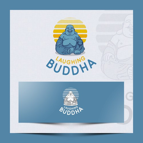 Logo for Laughing Buddha