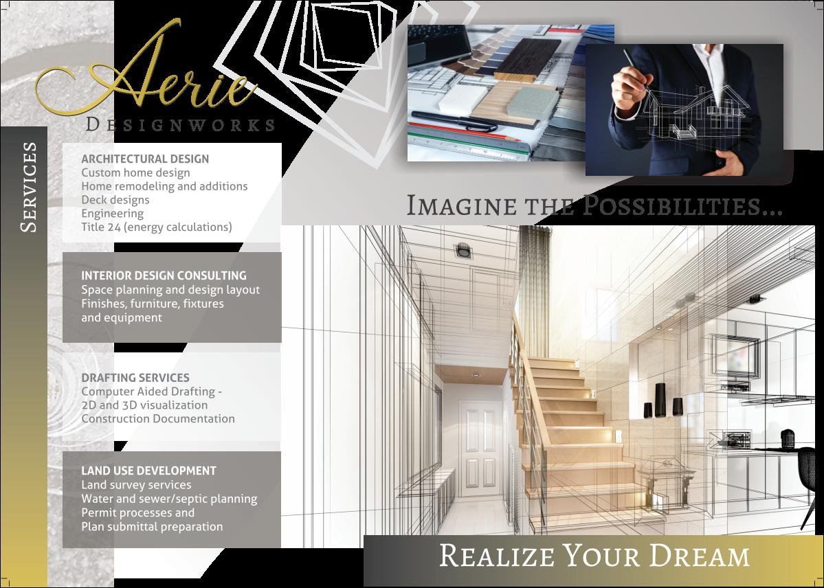 A4 three fold Brochure Design