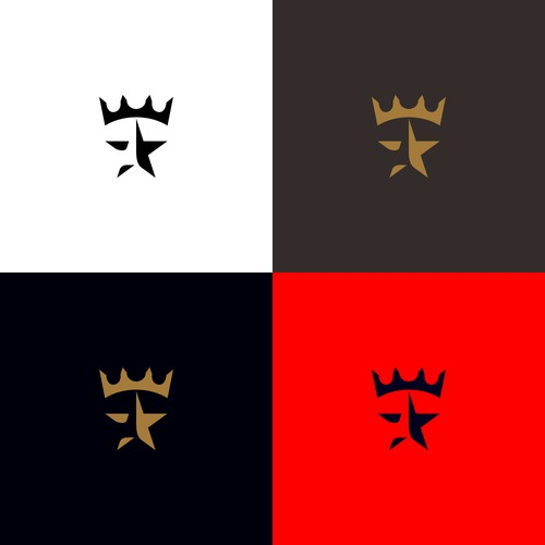 Powerful Logo Concept for Athlete King