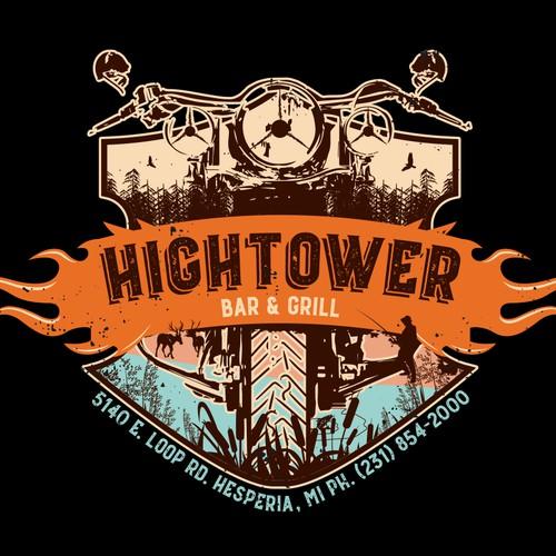 design t-shirt for HIGHTOWER