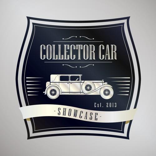 Vintage logo for collector car