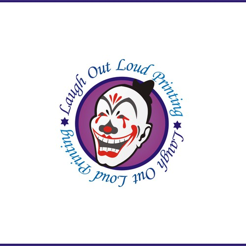 logo for Laugh Out Loud Printing