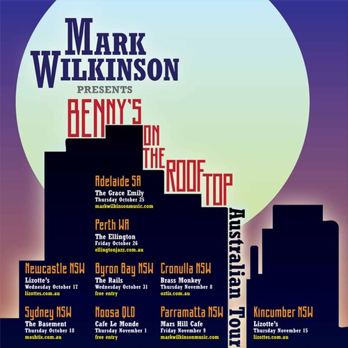 Mark Wilkinson poster design