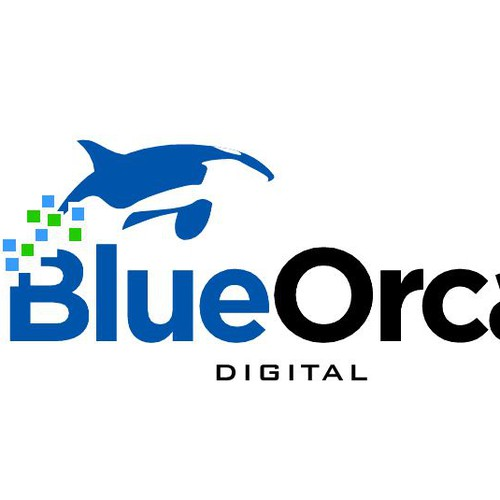 Create the next logo for Blue Orca Digital