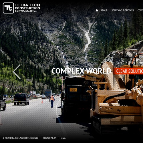 TTCI needs a new website design