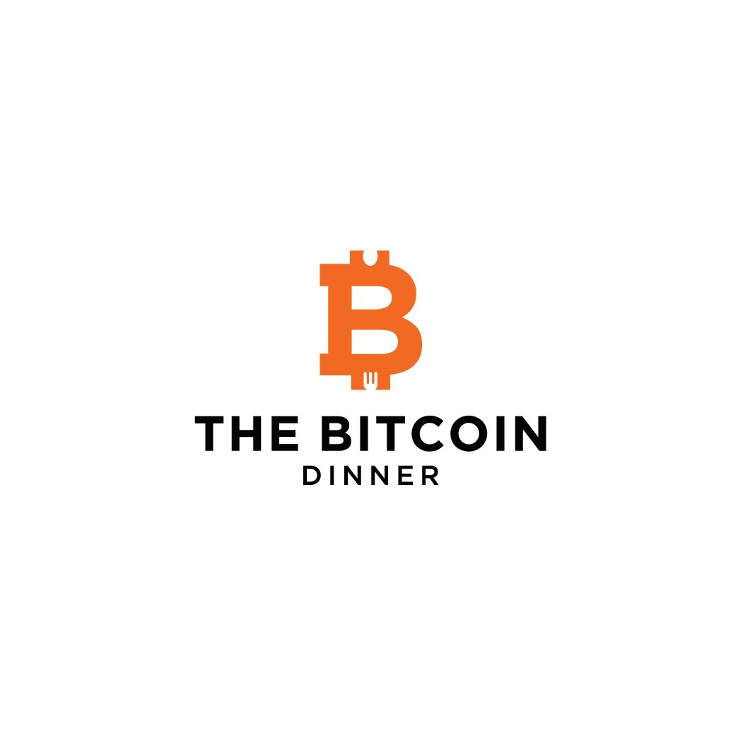 """Design a logo for an exclusive dinner series: """"The Bitcoin Dinner"""""""