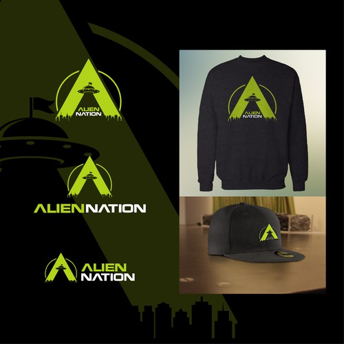 Alien nation logo design