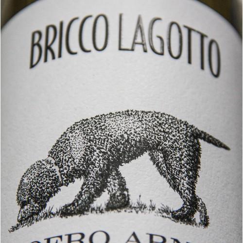 Bricco Lagotto wine label, details