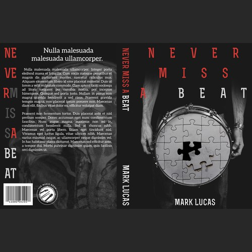 Book cover for musician