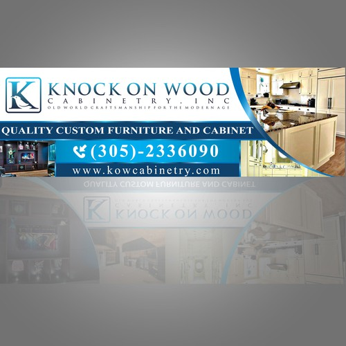 knock on wood banner