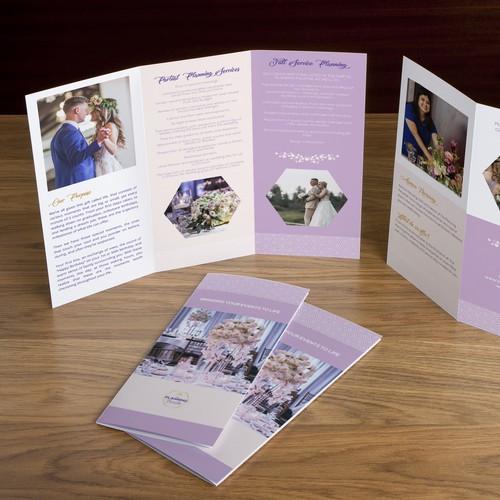 Elegant Event Planning Brochure design