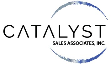 Design an industrial-ish style logo for Catalyst Sales Associates, Inc.