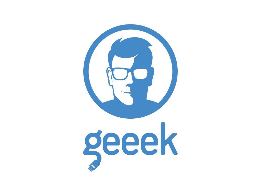 Logo for geek/nerd blog
