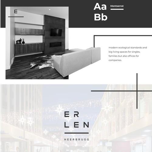 Logo concept entry for Erlen
