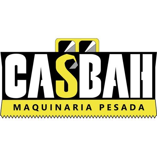 Logo para empresa de alquiler de maquinaria de construcción