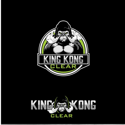 KING KONG CLEAR LOGO