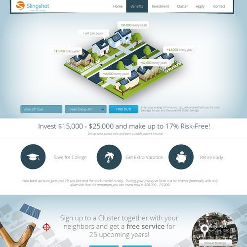 Help Slingshot with a new website design