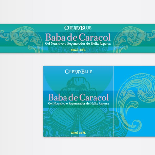 Baba de Caracol beauty cream packaging label