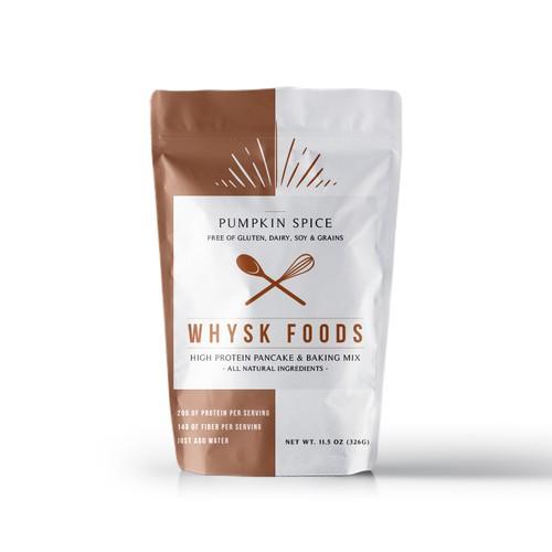 Protein Pancake & Baking Mix - Whysk Foods