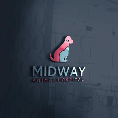 Modernizing current animal hospital logo