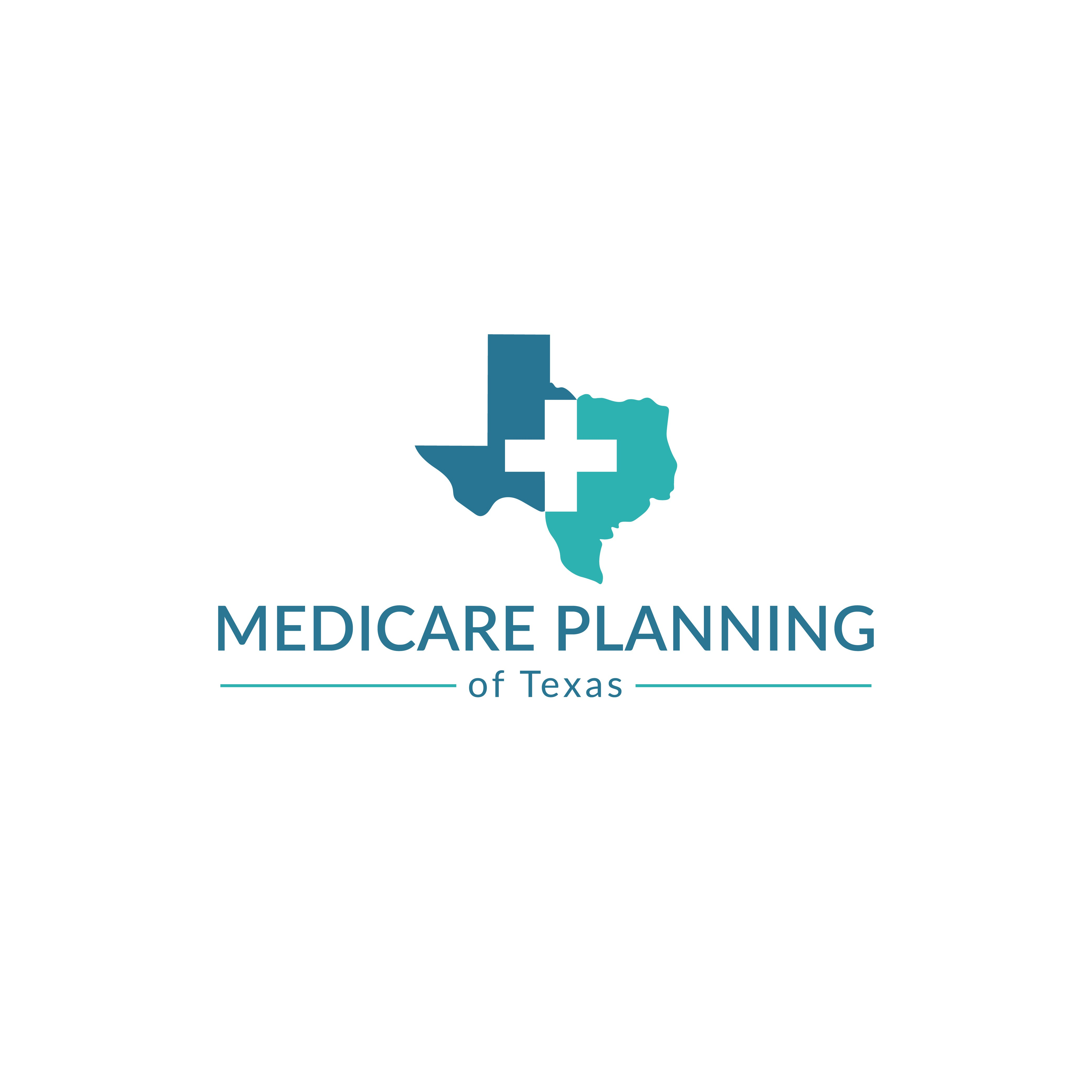 Need a modern, matching logo design for our Medicare Planning Shop in Texas