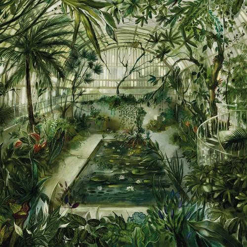 Botanical illustration for a puzzle