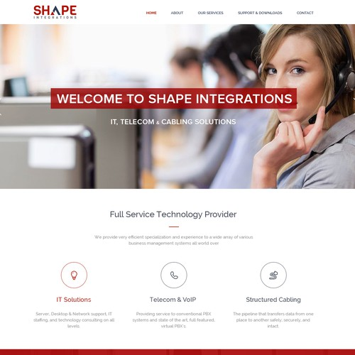 IT FIRM WEBSITE