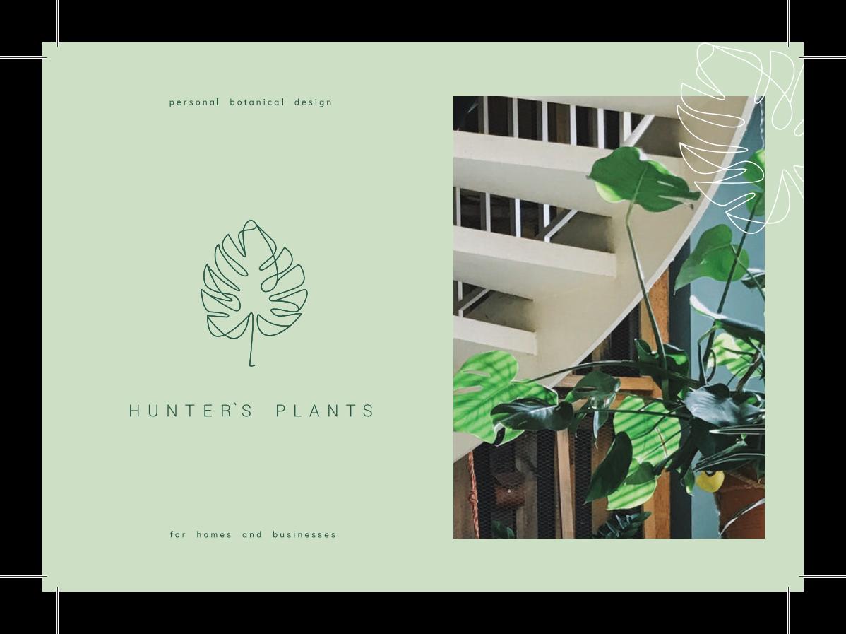 A flier for Hunter's Plans