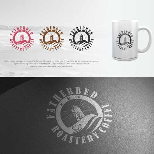 Featherbed Roastery Coffee logo - more jobs to follow!