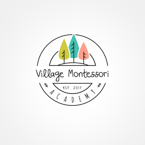 Logo for the preschool