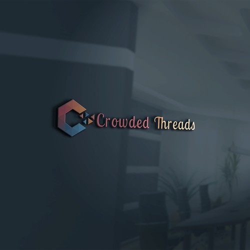 Text Logo Contest for Crowded Threads
