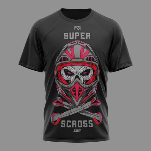 Motocross T-shirt design
