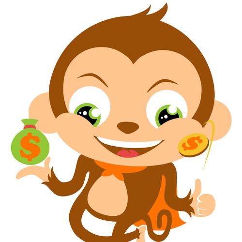 Super Money Monkey  art or illustration