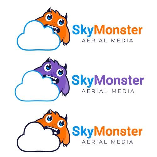 Sky monster logos