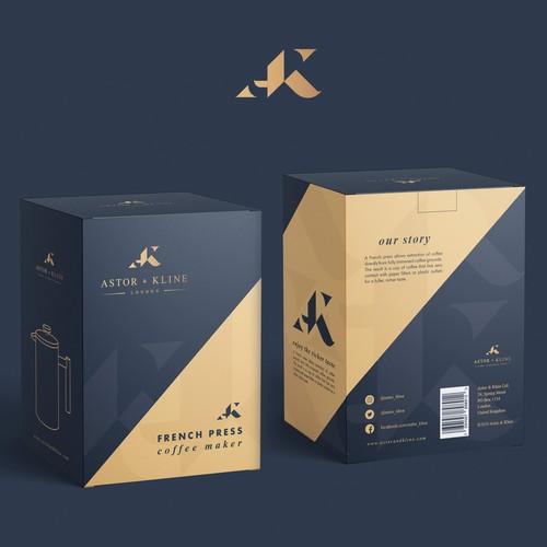 Astor & Kline   Packaging