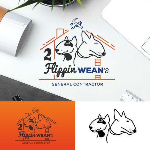 2 flippin wean's