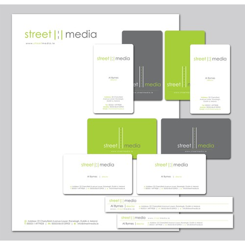 STATIONERY REQUIRED FOR OUTDOOR ADVERTISING COMPANY