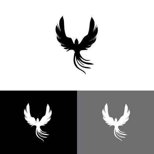 Phoenix logo design for a spiritual life coach