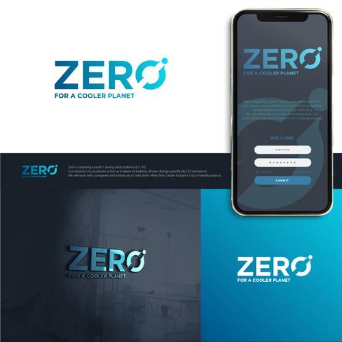 Strong logo concept for ZERO