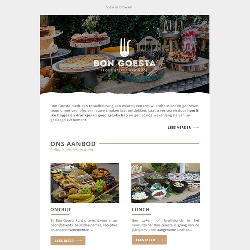 Responsive Mailchimp email template