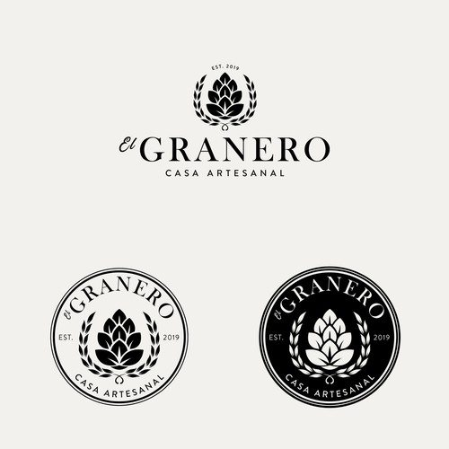 Logo conceot for Gastropub Restaurant