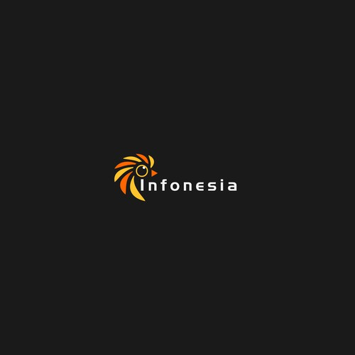 Simple Logo concenpt for internet platform. where people can earn the money.