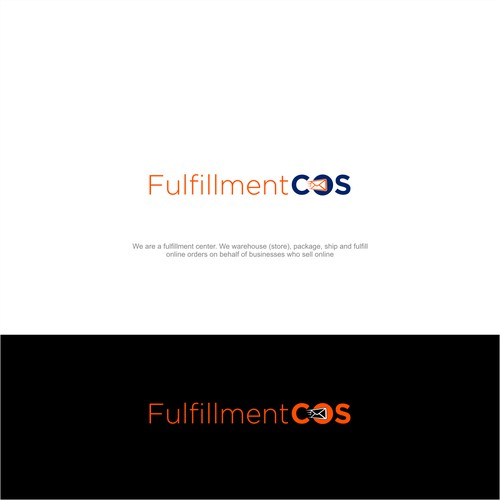 Fulfillment Center logo attractive to eCommerce Businesses