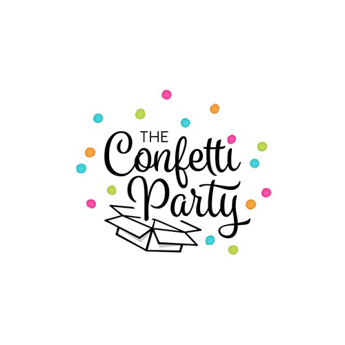 Logo for a Party Online Boutique