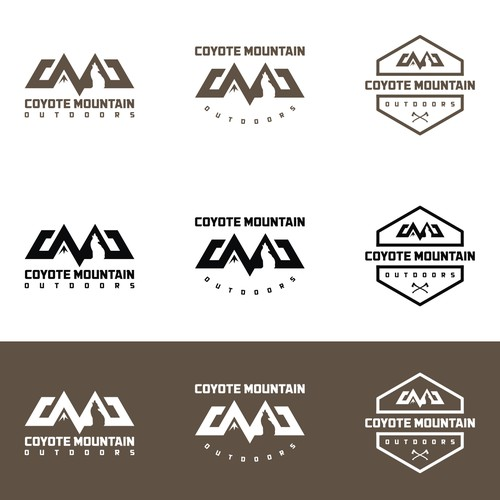 Create a streamlined industrial logo outdoor enthuiests will love!